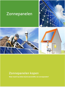 Zonnepanelen-e-book