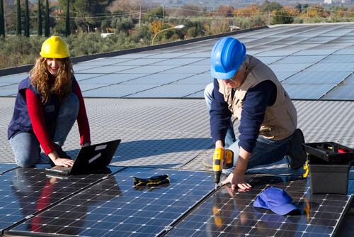 zonnepaneel bedrijf