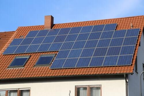 goedwerkende zonnepanelen