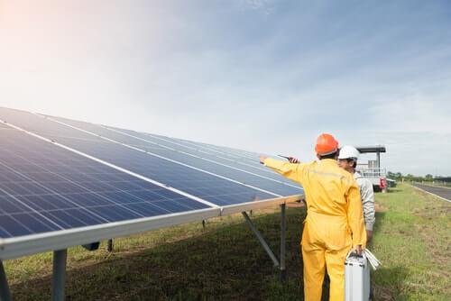 Vermogen zonnepanelen per m2
