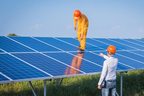 Hoog vermogen met minder zonnepanelen
