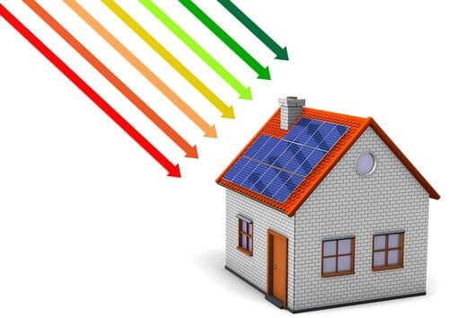 Zonnepanelen energie terug leveren