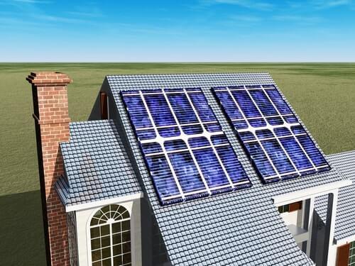legplan zonnepanelen op het dak