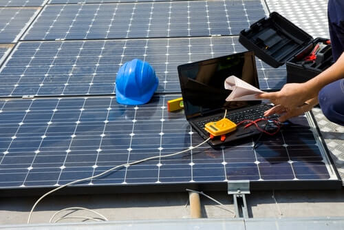 overschot aan zonne energie