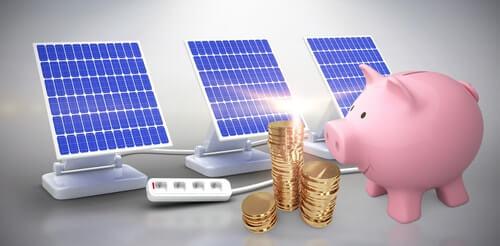 Zonnepanelen laten financieren